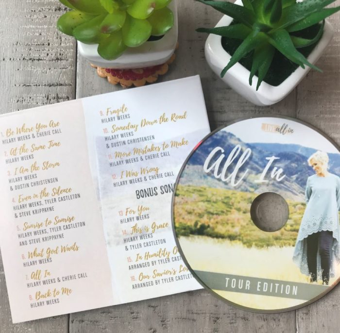 Live All In Christian Music CD