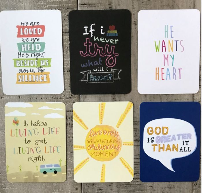 Positive Quote Cards
