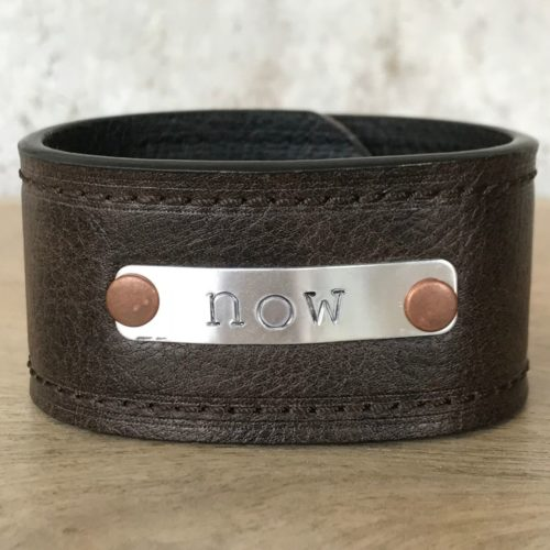 Now Leather Cuff