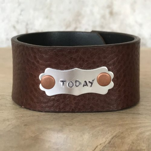 Today Leather Cuff