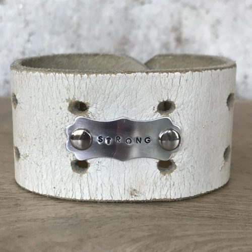Strong Leather Cuff