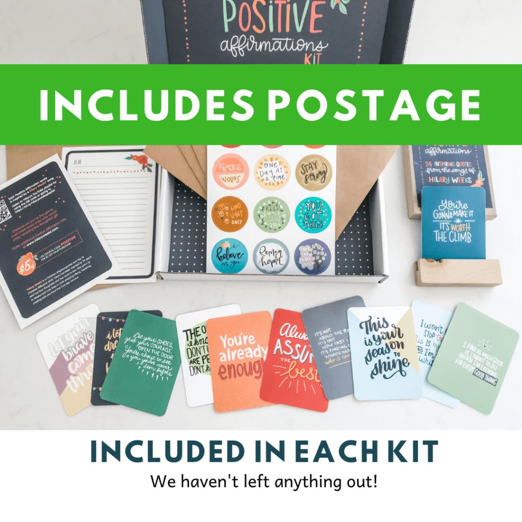 Positive Affirmation Kit